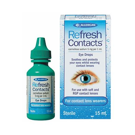 Allergan Refresh Contacts kapi za oči