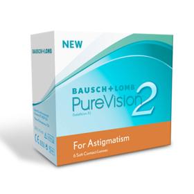 Bausch & Lomb PureVision 2 za astigmatizam (6 kom.)