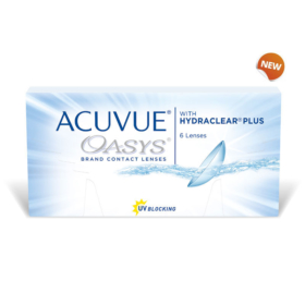 Johnson & Johnson – Acuvue oasys with Hydraclear plus