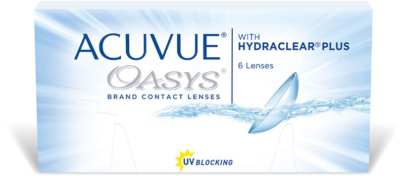 Acuvue oasys with Hydraclear plus – 1+1 GRATIS