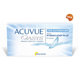 Johnson & Johnson – dvonedeljna sočiva Acuvue Oasys for astigmatism with Hydraclear Plus